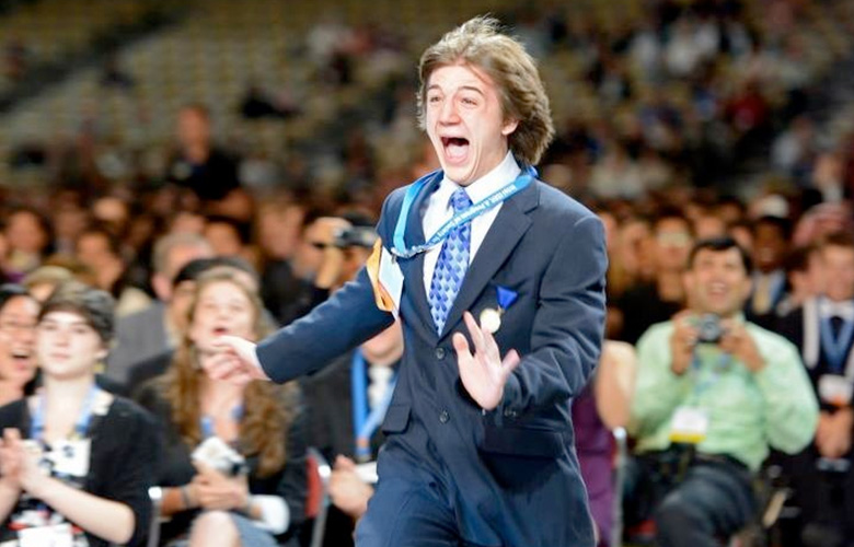 Jack Andraka — 15-Yr-Old Jack Andraka Invents Cancer Test 10X More Sensitive & 26,000X Cheaper than Current Tests