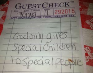 Random Acts of kindness restaurant