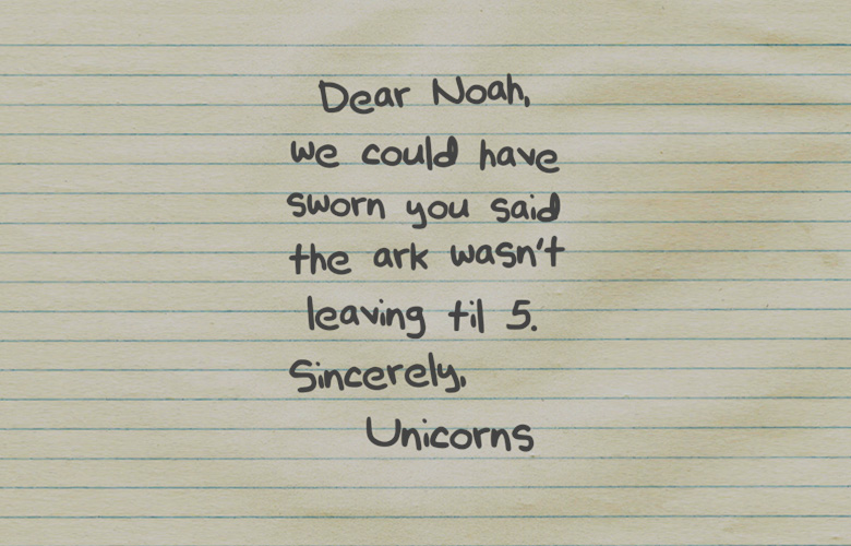 Funny Picture: This Note Made Me Smile