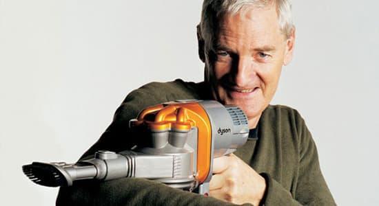 James Dyson famous failures