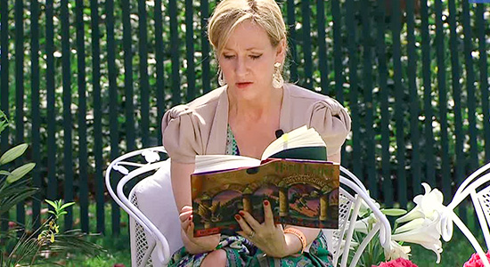 J.K. Rowling famous failures