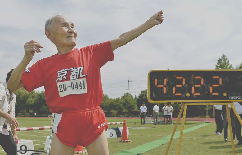 World's Oldest Competitive Sprinter — at 105-Years Young — Breaks World Record